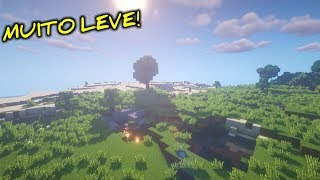 3 SHADERS EXTREMAMENTE LEVES PARA MINECRAFT 1.12.2!