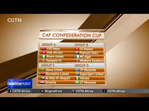 CAF CHAMPIONS LEAGUE DRAW