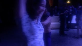 Dancing at the Guardian in Exile Launch Party 22 Jan 2015