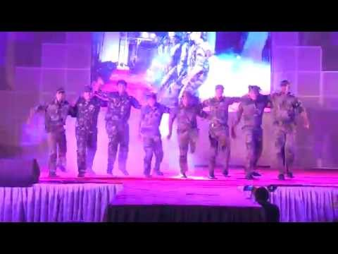 Kandho se milte hai kandhe_MCF_Annual Day_2015 by Harmony Events Choreography by Gaurav Modi