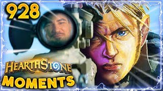 TOTALLY NOT SNIPPING... | Hearthstone Daily Moments Ep.928