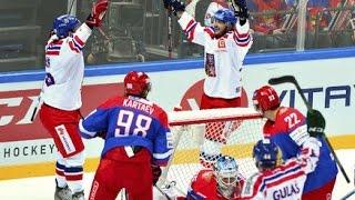 CHANNEL ONE CUP 2015  Česko - Rusko 4:2