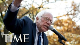 Senator Bernie Sanders At A Social Justice Rally On Capitol Hill | TIME Senator Bernie Sanders discusses Donald Trump's 2016 election win, the Democratic Party & much more at a social justic rally on Capitol Hill. Subscribe to ...