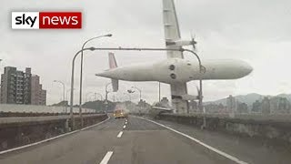 Taiwan Plane Crash: Passenger Jet Hits Bridge