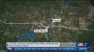 suspect in monroe murder dies of self-inflicted gun shot wound