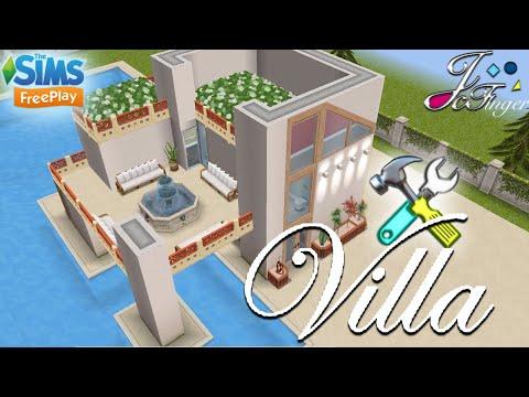 The Sims FreePlay 🛠| LIVE BUILD & TOUR |⚠️🌲🏠| VILLA |🏠🌲 By Joy. thumbnail
