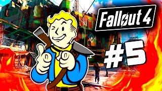 Fallout 4 - Строительство деревни - ГОРОД МЕЧТЫ 60 Fps 5
