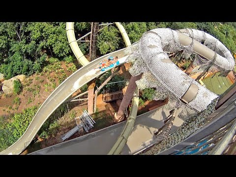 Ultimate Boomerango Water Slide at Valley of Waves Sun City