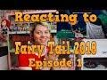 Anime React | Reacting to FAIRY TAIL 2018 Episode 1 Lamia Scale Thanksgiving!!