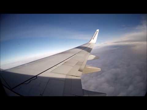 /Full Flight/ Prague to Brussel Charleroi - Ryanair Boeing 737-8AS