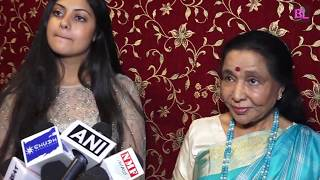 Asha Bhosle & Grand Daughter Zanai Bhosle announce their new songs