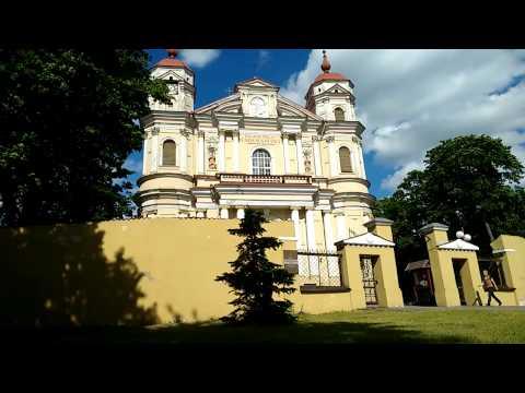 Baroque Church - St. Peter and St. Paul's Church Vilnius