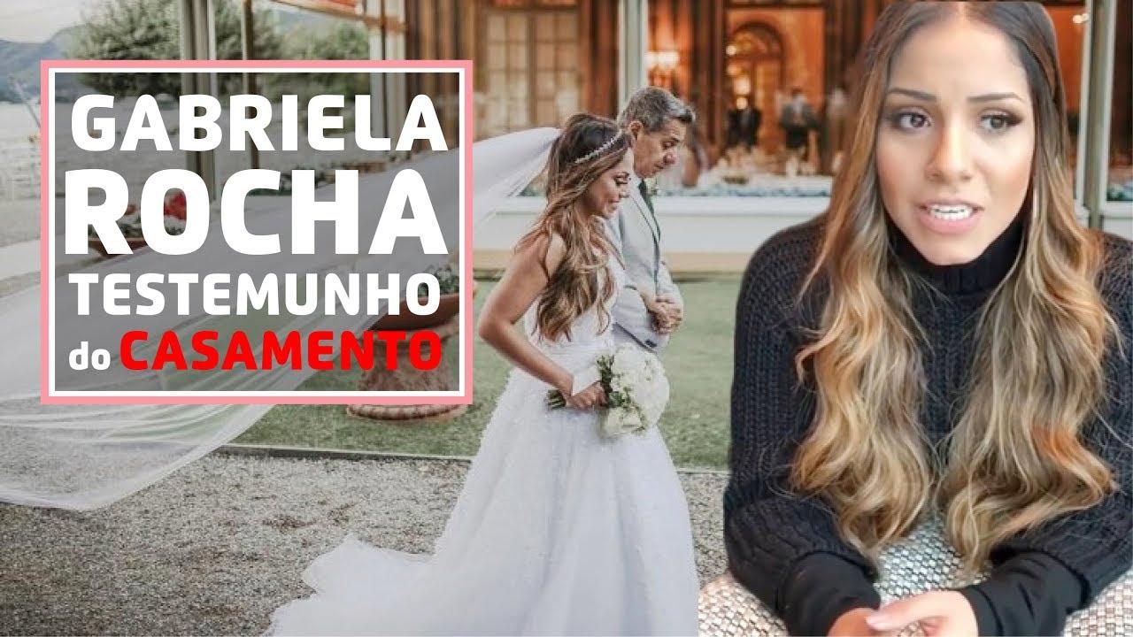 GABRIELA ROCHA conta testemunho de milagre em seu casamento!