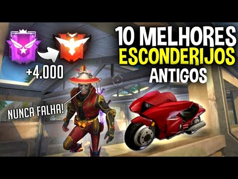OS 10 LUGARES MAIS ANTIGOS DO FREE-FIRE QUE AINDA FUNCIONA! +4000pontos