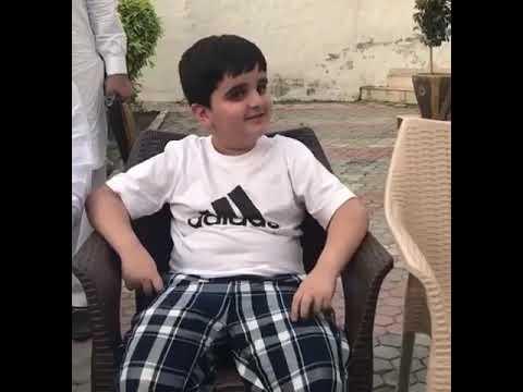 Little politician sy Ch akhlaq ahmed Ranian  interview krty huey