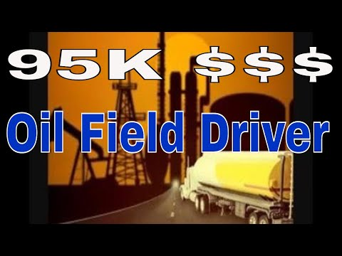 Oilfield CDL Driver 95k Year 18 Months Exp | Red Viking Trucker