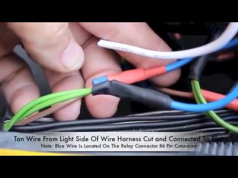 Headlight Relay Install On C3 Corvette By Corvette Hop Youtube