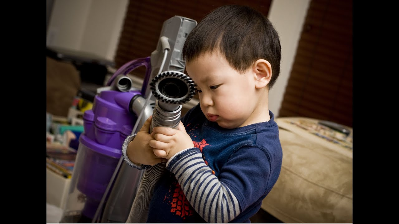 Dyson Vacuum Cleaners Could Be Baby S Best Toy Ever