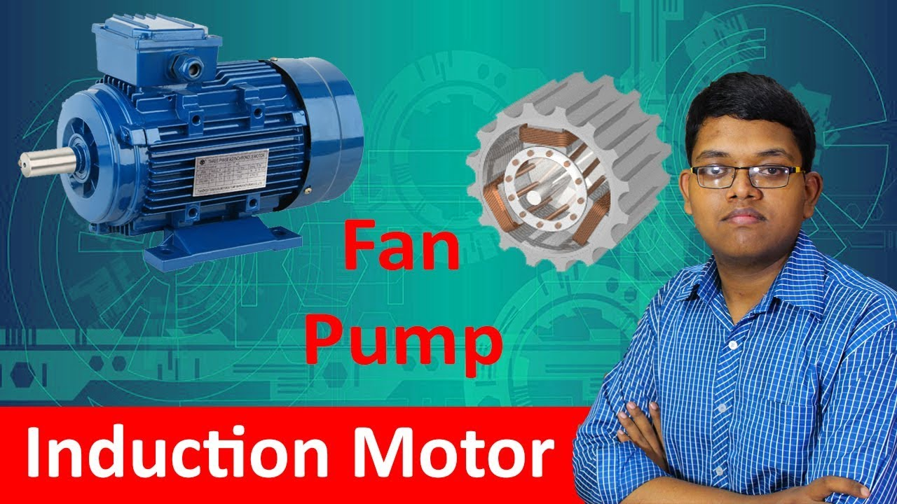 Fan & Pump Motor Explained ! How Induction Motor Works In Hindi ...