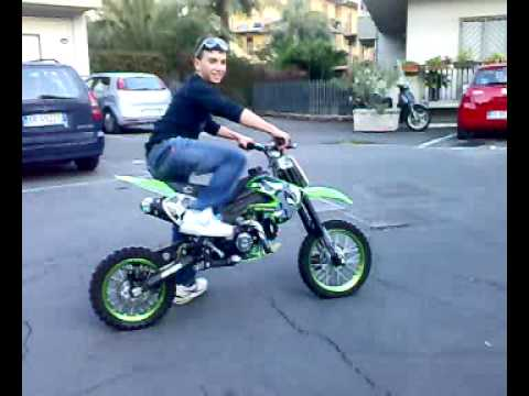 andrea scalia friends con pitbike motocross 125cc youtube. Black Bedroom Furniture Sets. Home Design Ideas