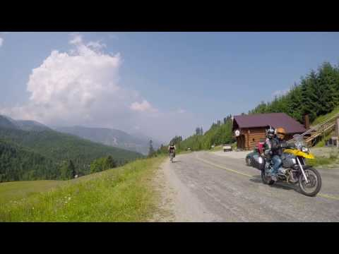 Maramures Bukovina - Romania 2015 GoPro  Bicycle Travel
