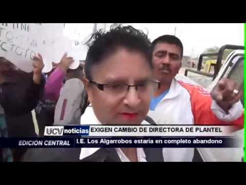 I.E LOS ALGARROBOS  ESTARÍA  EN EL ABANDONO -UCV NOTICIAS PIURA