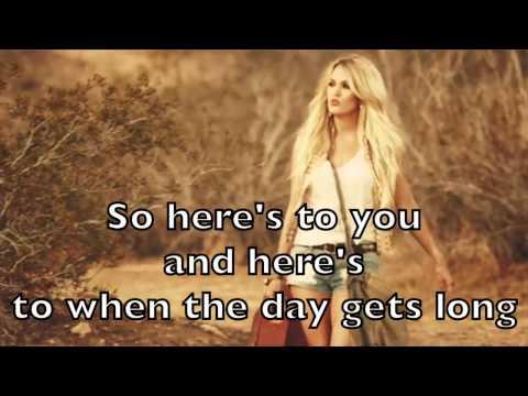 Carrie Underwood - Smoke Break Karaoke Acoustic Guitar Instrumental Backing Track + Lyrics