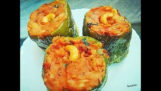 stuffed capsicum curry