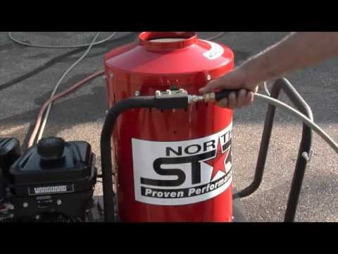 NorthStar Gas-Powered Wet Steam & Hot Water Pressure Washer — 2700 PSI, 2.5 GPM