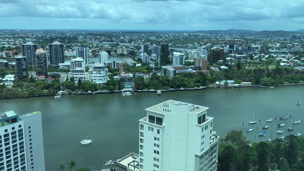 Brisbane Skytower View from Floor 42 Jan 7, 2020