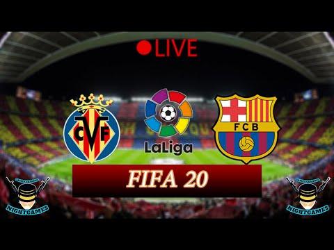 🔴-مباراة-برشلونة-وفياريال-⚽-الدوري-الاسباني-🔥-⚽fifa-20⚽