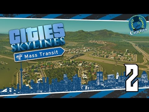 Cities Skylines: Mass Transit #2 Nuevos Barrios y Control de