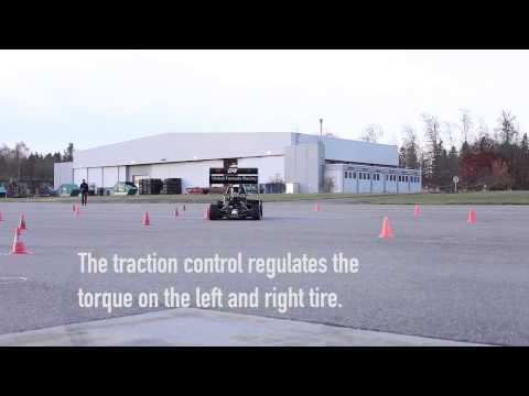 Vehicle Dynamic Controls for an electric racecar #SimulinkChallenge2014