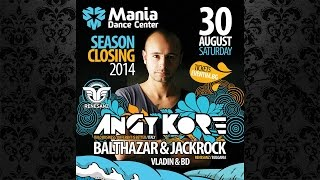Renesanz pres. AnGy KoRe @ Club MANIA Season Closing Party (30.08.2014)