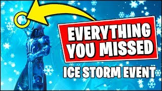 Everything You *MISSED* About The ICE STORM EVENT in Fortnite