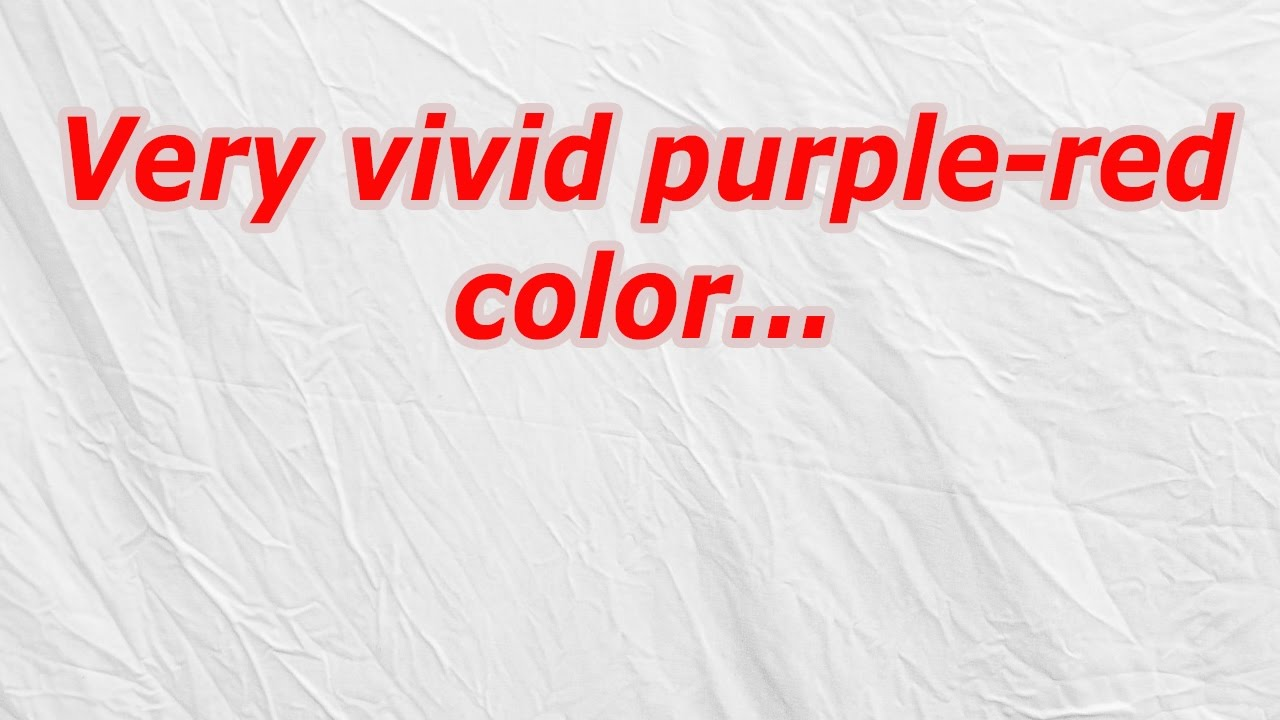 Very Vivid Purple Red Color Codycross Answer Cheat Youtube