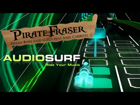 """PirateFraser Rides... """"In the Hall of the Mountian King"""" - Audiosurf #UploadMonth"""