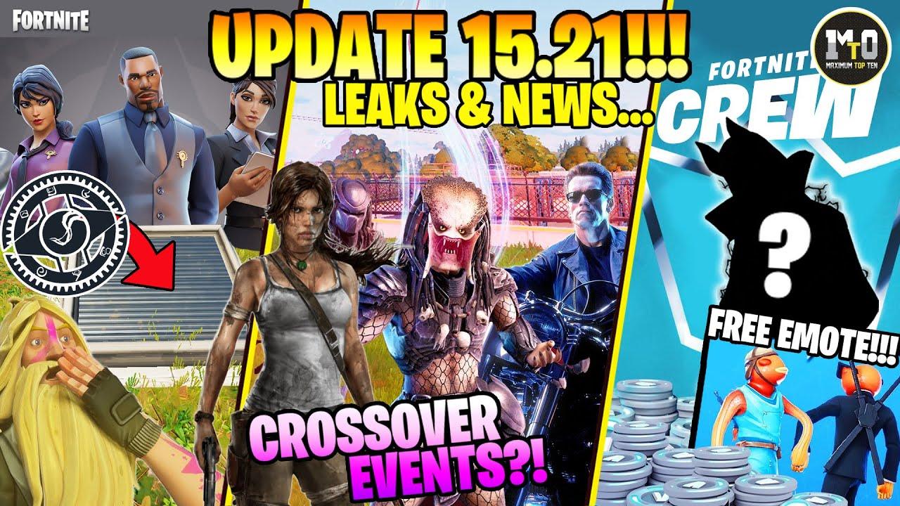 UPDATE 15.21... CROSSOVER EVENTS KAI SKINS! 💀 ΤΑ ΜΥΣΤΙΚΑ ΚΑΤΑΦΥΓΙΑ ΤΗΣ I.O. + FREE EMOTE