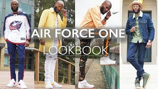HOW TO STYLE NIKE AIR FORCE 1's | COOPSCORNER