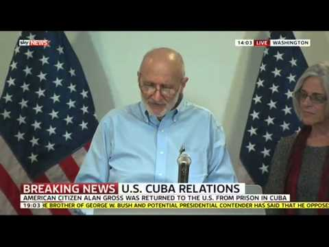 Alan Gross Speaks After Being Freed From Cuban Prison