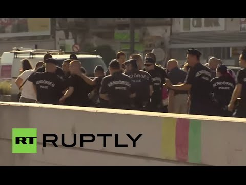 Hungary: Far-right militants attack refugees at Keleti ...