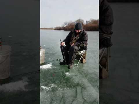 Ice fishing December 2016 Omaha