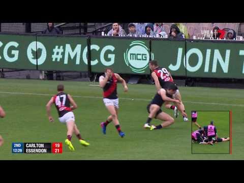 Round 3 AFL - Carlton v Essendon Highlights