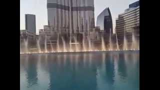 dubai fountain -arabic song
