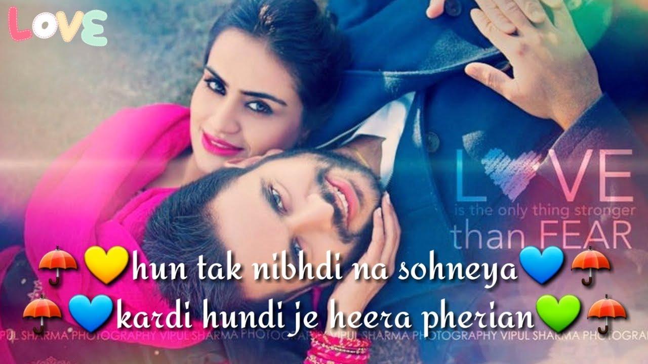 Punjabi Romantic Song Whatsapp Status Video