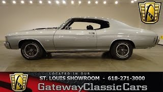 1972 Chevrolet Chevelle - Gateway Classic Cars - #6254
