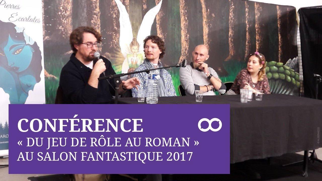 [STUDIO INFINITE] Conférence Salon Fantastique 2017