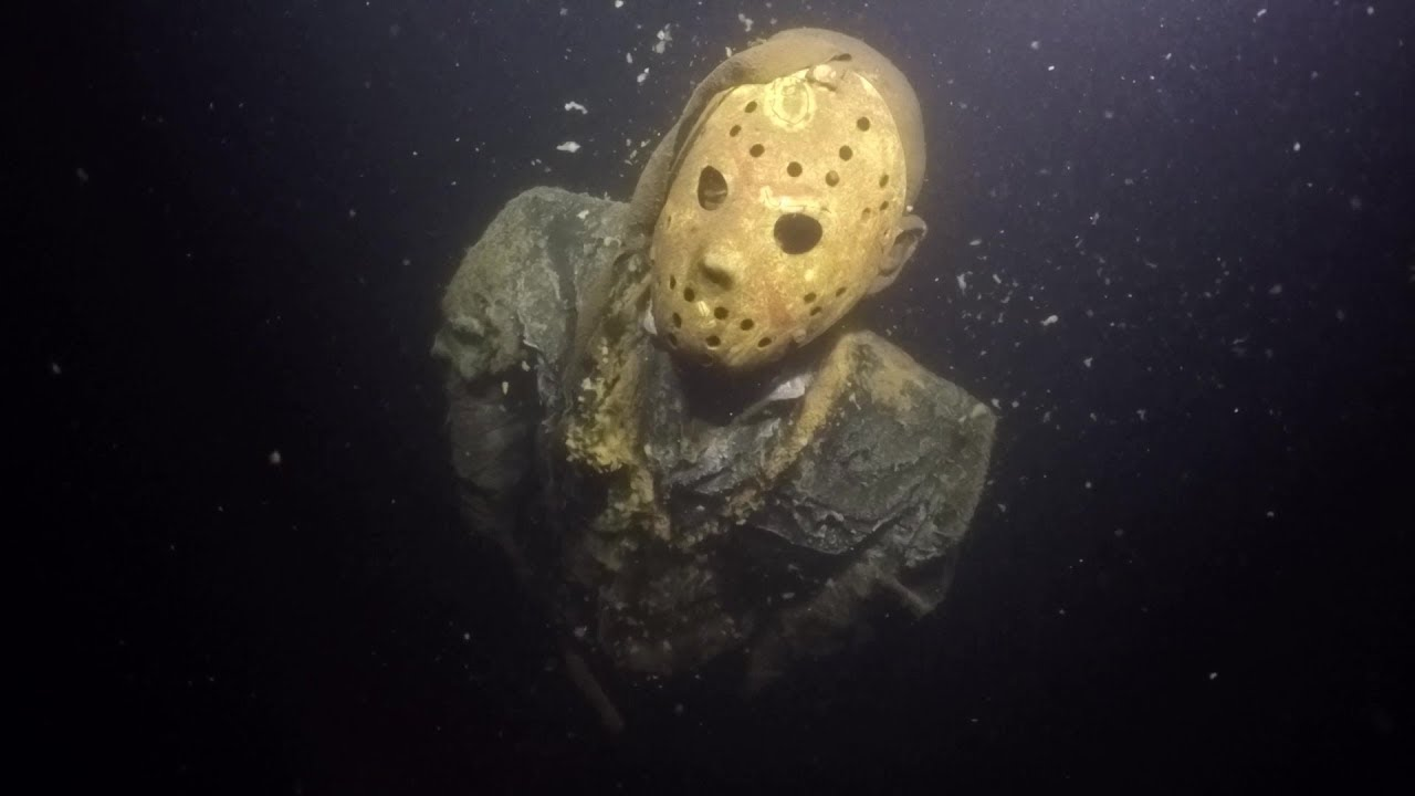 Jason Voorhees Statue Still in Minnesota Lake