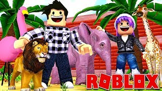 ON OUVRE UN ZOO ! | Roblox Adopt Me