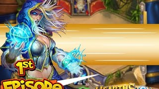 HearthStone Heroes of Warcraft - #1st Episode Gameplay - World of Warcraft (PC Game DOWNLOAD)